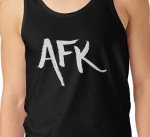AFK - White Tank Top