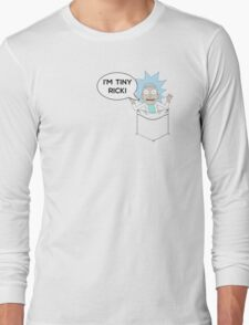Tiny Rick! Long Sleeve T-Shirt