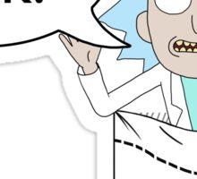 Tiny Rick! Sticker