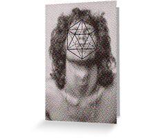 Morrison´s icosahedron Greeting Card
