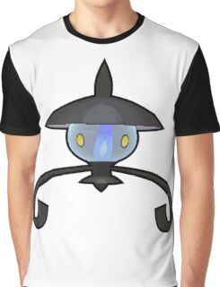 Lampent - Pokemon Thick Border Graphic T-Shirt