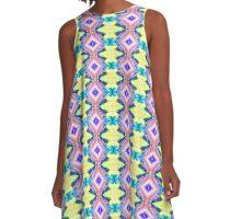 Pretty Pastel A-Line Dress