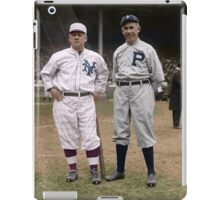 John McGraw/Pat Moran April 1916 iPad Case/Skin