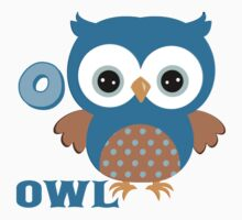 O is for Owl Baby Tee