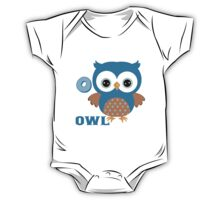 O is for Owl One Piece - Short Sleeve
