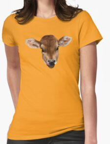 Milky Moo Womens Fitted T-Shirt