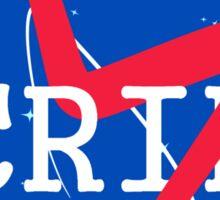 CRIP Nasa Logo Sticker