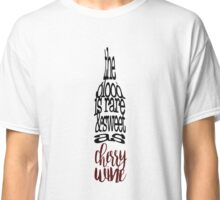 Cherry Wine Bottle Classic T-Shirt