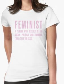 ***Flawless - Feminist Womens Fitted T-Shirt