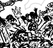 The Dillinger Escape Plan fan art Sticker