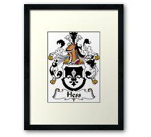 Hess Coat of Arms (German) Framed Print
