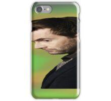 """David Tennant """"hippie"""" background iPhone Case/Skin"""
