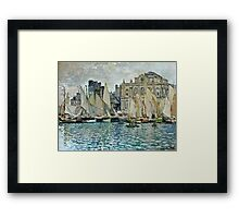 Claude Monet - View Of Le Havre  Framed Print