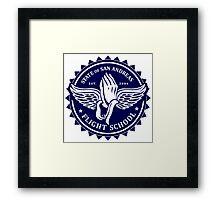 San Andreas Flight School Framed Print