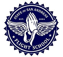 San Andreas Flight School Photographic Print