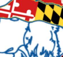 The Salty Dog - Maryland Edition Sticker