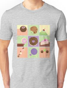 Candy & Sweets Pattern Unisex T-Shirt