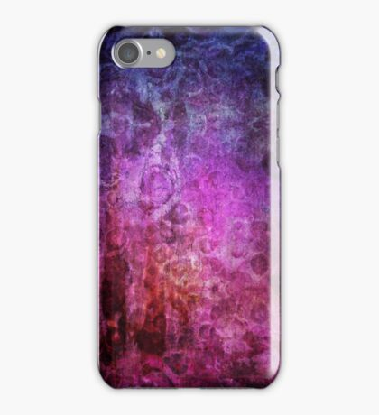 Abstract Mixed Media iPhone Case/Skin