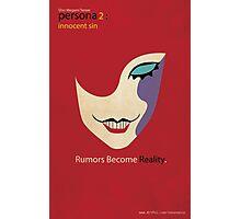 Persona 2 Innocent Sin Minimalist Poster Photographic Print