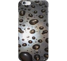 Raindrops on Glass iPhone Case/Skin