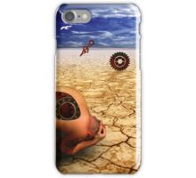 left to get wet by the desert iPhone Case/Skin
