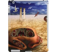left to get wet by the desert iPad Case/Skin