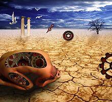 left to get wet by the desert by motiashkar