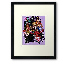 Tales Of Ladybug and Chat Noir Framed Print