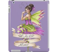 We All Die Alone iPad Case/Skin