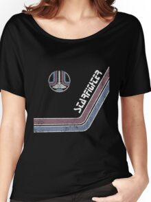 Starfighter Arcade Cabinet Women's Relaxed Fit T-Shirt