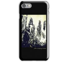 Monster At The Computer iPhone Case/Skin