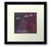 The lotus. Framed Print