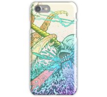 NARWHAL VS GIANT SQUID iPhone Case/Skin