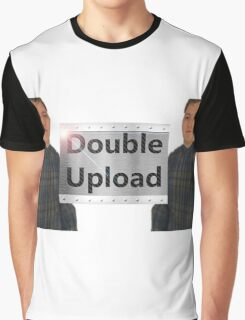 Double upload Graphic T-Shirt