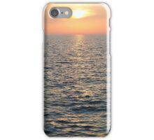 Sunset over Adriatic Sea Vertical iPhone Case/Skin