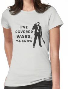 Covered Wars Womens Fitted T-Shirt