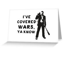 Covered Wars Greeting Card