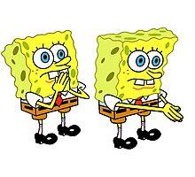 Spongebob boi Meme! Photographic Print