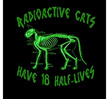 Radioactive Cats Photographic Print