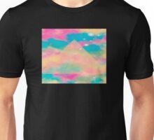 Psychedelic Tie Dye Pyramid Heaven Unisex T-Shirt