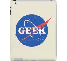 Space Geek iPad Case/Skin
