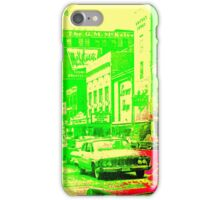 Lemon-Lime Downtown Youngstown - The 1960s iPhone Case/Skin