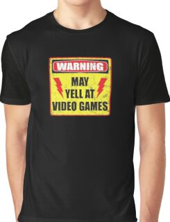 Gamer Warning Graphic T-Shirt