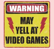 Gamer Warning Kids Tee