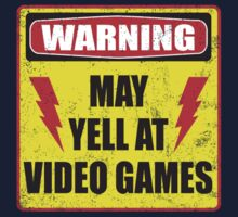 Gamer Warning Kids Tee