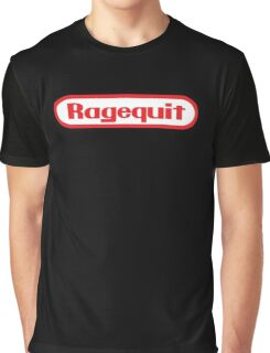 Ragequit Graphic T-Shirt