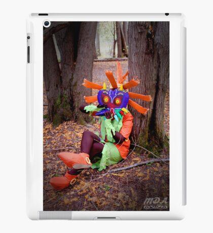 Skull Kid on the Ocarina iPad Case/Skin
