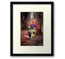 Skull Kid on the Ocarina Framed Print