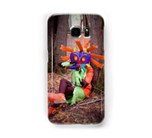 Skull Kid on the Ocarina Samsung Galaxy Case/Skin
