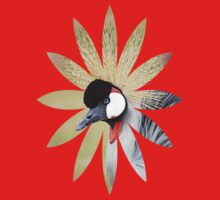 Endangered East African Crowned Crane Design  by Doty
